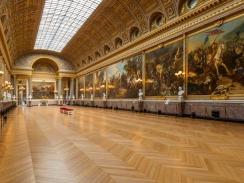 Galerie des Batailles : assis : 600-650 pax / debout : 800 pax