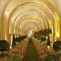 Prix de location de l'Orangerie : 70 000 euros