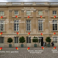 Côté Cour d'honneur