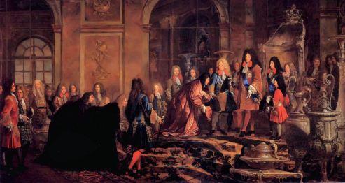 Réception du doge de Gênes le 15 mai 1685