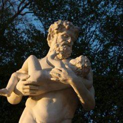 Statue de Bacchus et Silène