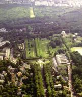 Meudon : vue aérienne en 2015