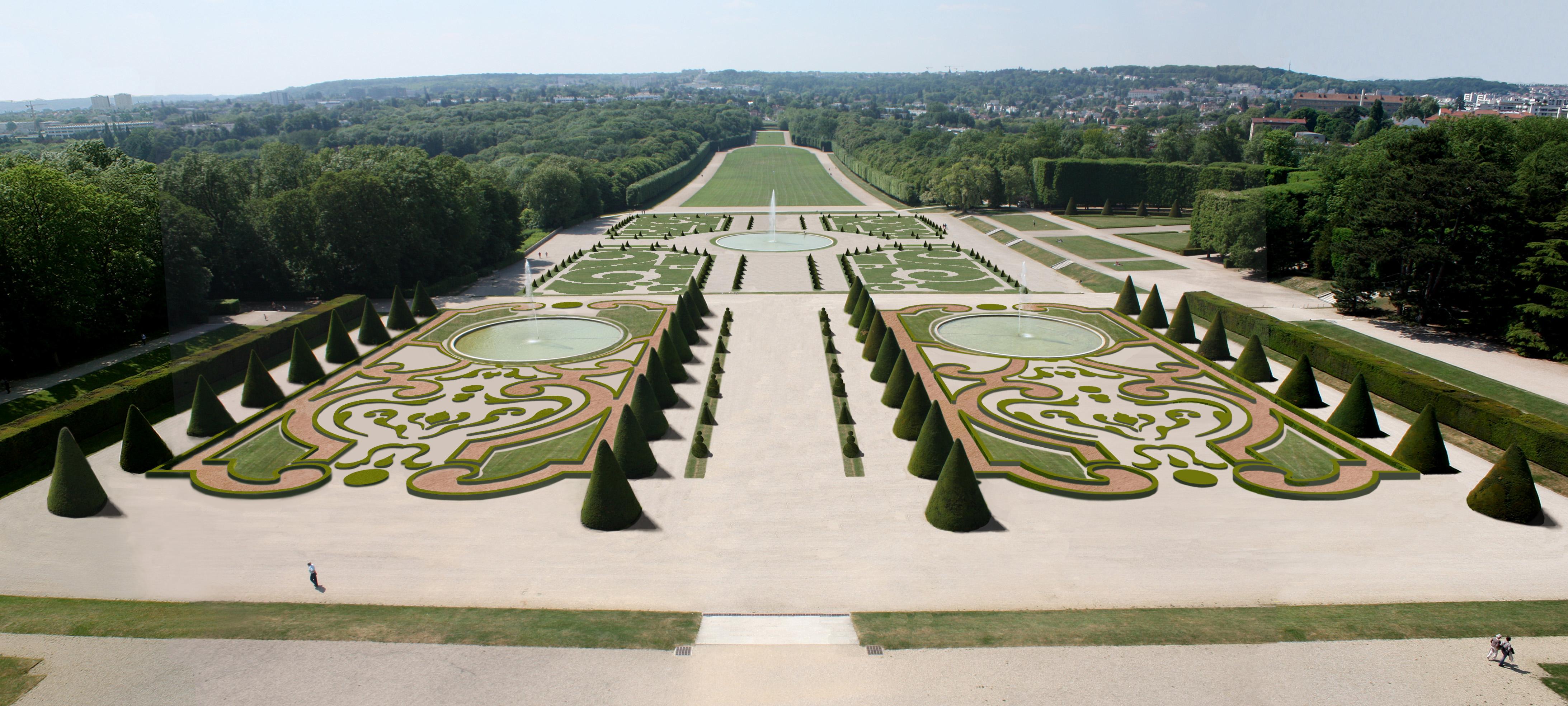 17 jardins d andr le n tre andr le n tre for Jardin de la vereda