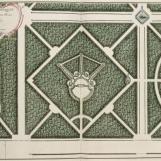 Le plus riche et le plus méconnaissable aujourd'hui : le bosquet du Théâtre d'eau / bosquet du Rond vert - auj. Bosquet du nouveau Théâtre d'Eau