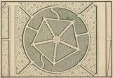 Le plus simple : le bosquet des Sources d'Eau - auj. bosquet de la Colonnade