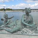 Nymphe et du Zéphyr
