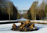 Parc de Versailles sous la neige