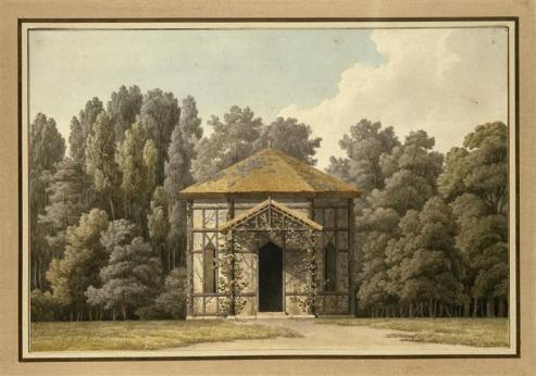Petit pavillon du parc de Malmaison, Louis Hippolyte Le Bas
