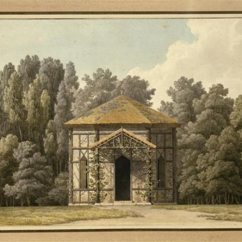 Fabriques de jardins : pavillons et châteaux en France, Allemagne ...