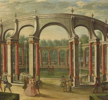 Bosquet de la Colonnade, anonyme, XVIIIe siècle