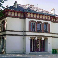 Pavillon, parc Montsouris, Paris