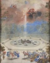 8. Vue de la Fontaine de l'Encelade avec Jupiter foudroyant - Jean Cotelle