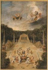 3. Vue de l'Arc de Triomphe avec Vénus accueillant Mars - Jean Cotelle