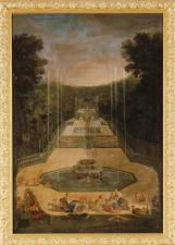 23. Vue des Trois Fontaines avec Vénus exerçant les amours à tirer à l'arc