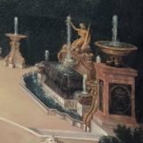 Buffet d'eau du bosquet de l'Arc de Triomphe latéral 2 - Jean Cotelle
