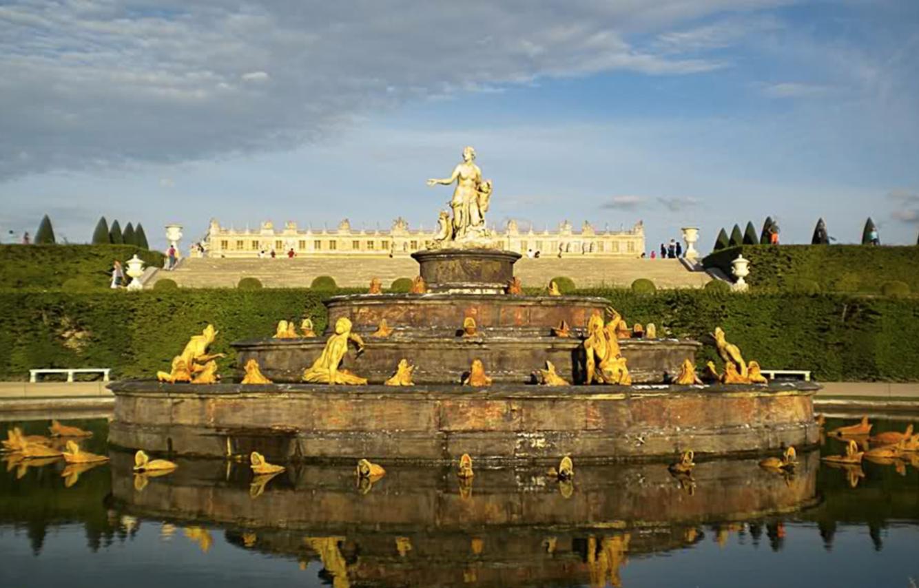 Visite des jardins de versailles par louis xiv en 56 points de vue andr le n tre - Visite des jardins de versailles ...