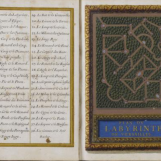 Plan du bosquet du Labyrinthe