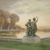 Groupe d'amours soleil-couchant, Versailles