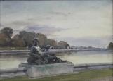 Parc – 1907 Nymphe et enfant soufflant dans une conque marine – Versailles