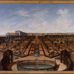 Ce projet de l'architecte, dessinateur et théoricien Emmanuel Héré, réalisé au XVIIIe siècle, est directement inspiré du bosquet des Sources de Le Nôtre. XVIIIe siècle